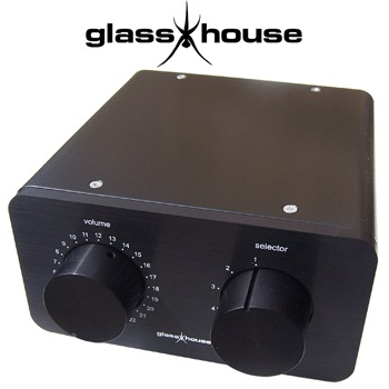 Glasshouse Passive pre-amplifier No. 1 Chassis only