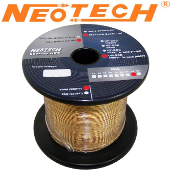 GP-OCG-26: Neotech Gold Plated Copper Wire