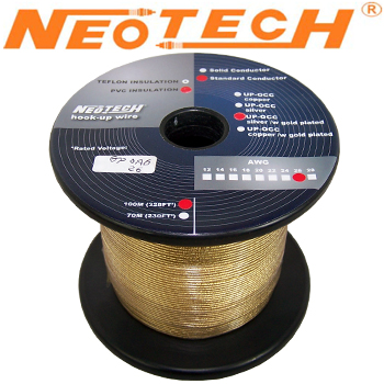 GP-OAG-26: Neotech Gold Plated Silver Wire