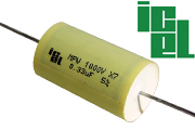 ICEL MPW Metallized Polypropylene Capacitors