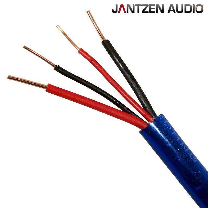 006-0085: Jantzen Bi-wire Speaker Cable, 2 x AWG 17 + 2 x AWG 20 ...