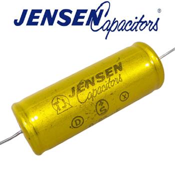 0.22uf 300V Jensen Aluminium Foil capacitor - New Old Stock