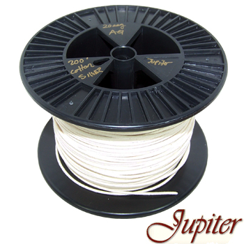 Jupiter AWG 20, Pure Silver 5N cotton insulated wire (0.81mm)