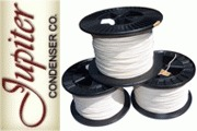 Jupiter copper in cotton insulated wire