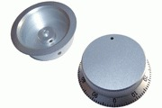 "silver ""numbered"" knob 57mm diameter"