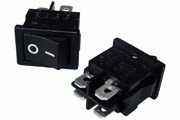 Mains On-Off Minature Rocker Switch DPST