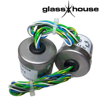 Glasshouse 1:10 step ups transformers