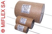 Miflex KPAL Aluminium Foil Paper / Polypropylene in Oil Capacitors