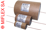 Miflex KPCU Copper Foil Paper / Polypropylene in Oil Capacitors