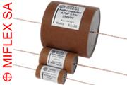 Miflex KPCU-03 Copper Foil Paper / Polypropylene in Oil 250Vdc Capacitors