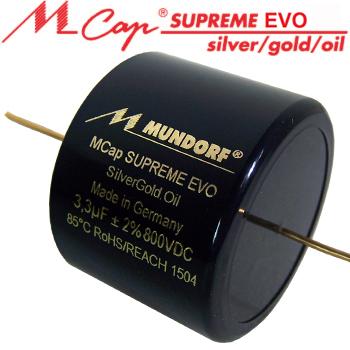 Mundorf MCap Supreme EVO Capacitors