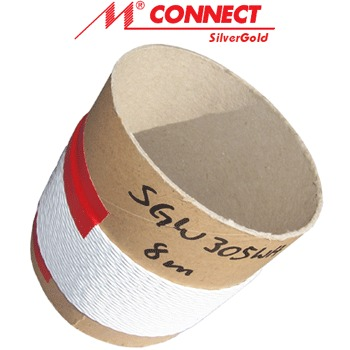 Mundorf wire SGW305, 3x0.5mm 99%silver/1%gold twist cable (1m)