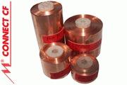 Mundorf Copper Foil - 11.5mm, 17mm, 22mm, 28mm, 44mm & 70mm width