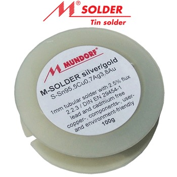 Mundorf 3.8% silver/gold solder 5m length