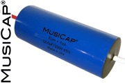MusiCap Film and Foil Polypropylene Audio Capacitors