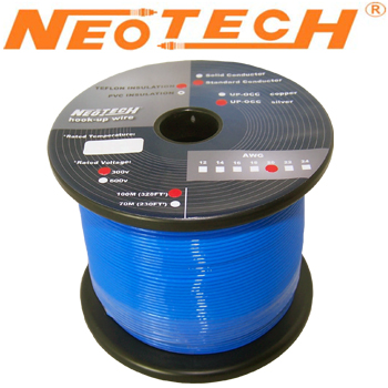 SOST-22: Neotech Solid Silver Wire, 1/0.65mm
