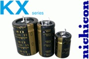 Nichicon KX electrolytic capacitors