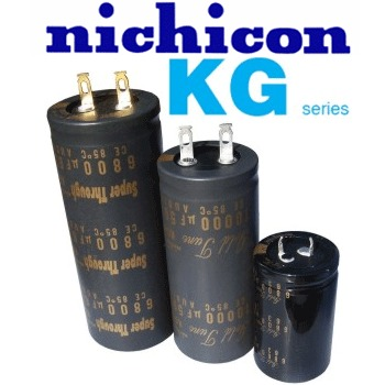 Nichicon KG Type now in Stock