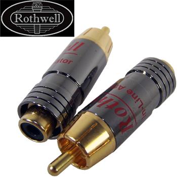 Rothwell In-Line Attenuator, standard -15dB version (pair)