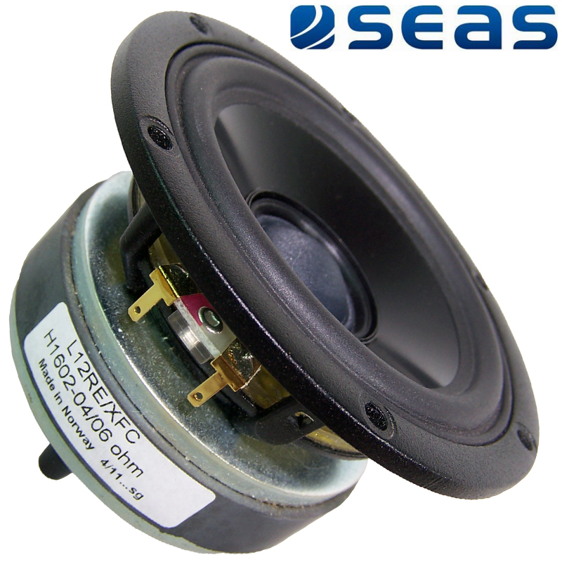 Seas L12RE/XFC Woofer, H1602-04/6 - Prestige Series | Hifi Collective