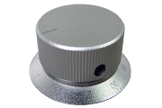 "Silver ""Numbered"" Knob, 35mm diameter"