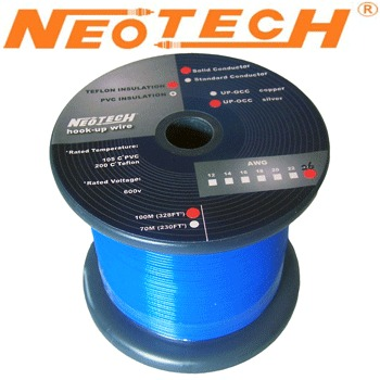 SOST-26: Neotech Solid Silver Wire, 1/0.45mm