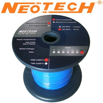 SOST-30: Neotech Solid Silver Wire, 1/0.29mm
