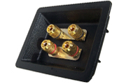 Speaker Cup Gold Plated Bi Wire Terminals