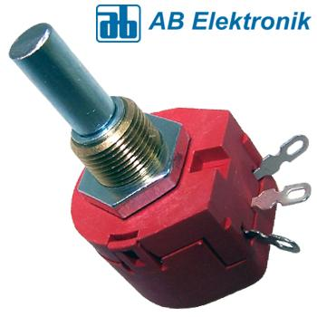 AB Elektronik ABW1 Series 1W Wirewound potentiometer