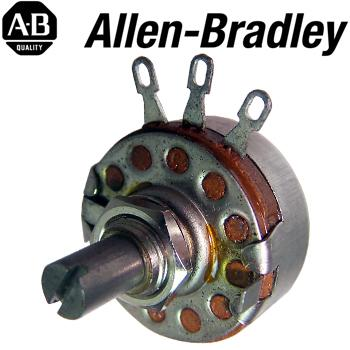 Allen Bradley Type J Mono Potentiometers - short shaft
