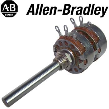 Allen Bradley Type J Stereo Potentiometers - long shaft