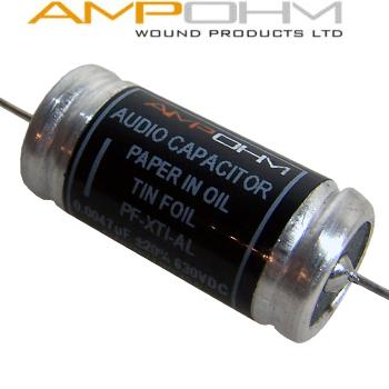 Ampohm Tin Foil, Paper in Oil Capacitors