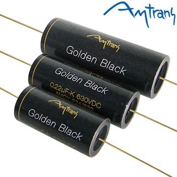 Amtrans AMCY Golden Black Capacitor