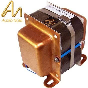 Audio Note interstage transformers with copper shrouds fitted
