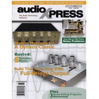 audioXpress: August 2005, vol.36, No.8