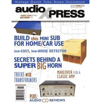 audioXpress: January 2005, vol.36, No.1