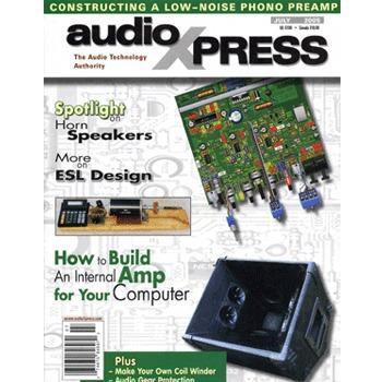 audioXpress: July 2005, vol.36, No.7