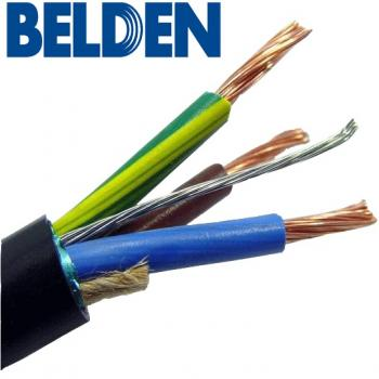 Closeup view of Belden 19364 mains cable
