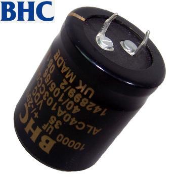 BHC Standard Electrolytics Capacitors