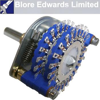 Blore Edwards 2 pole 23 way stereo attenuator switch, OPZ-51260-2