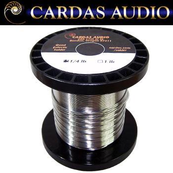 Cardas quad eutectic solder