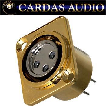 Cardas CM F XLR female XLR socket (1 off)