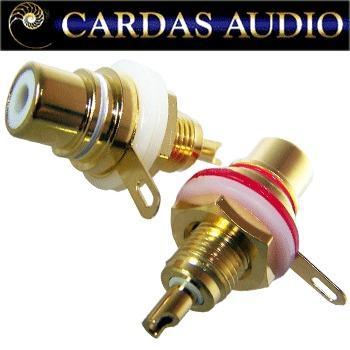 Cardas CTFA RCA socket (pair off)