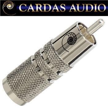 Cardas SLVR SS male RCA plug, silver plated