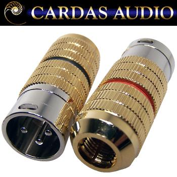 Cardas XLR male plug, CG M XLR