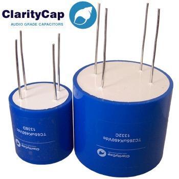 Claritycap TC 4 terminal range of PSU Polypropylene Capacitors