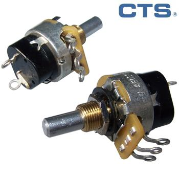 CTS 1M log mono potentiometer - switch type