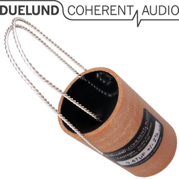 Duelund Silver CAST DC capacitor