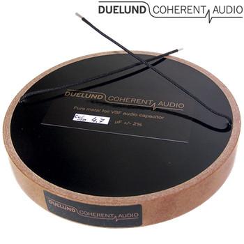 Duelund CAST PIO Tinned Copper Capacitors 100Vdc