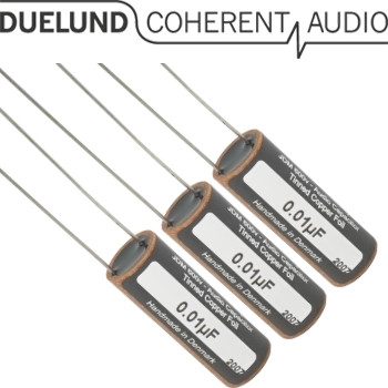 Duelund JDM Tinned Copper Capacitors 600Vdc